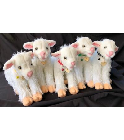 stuffed animal goat lamb
